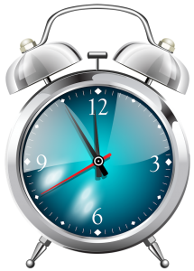 Tijdsklok op een WordPress Post1024